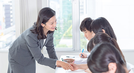 5教科指導の少人数個別指導